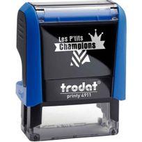 """Printy - tampon les p'tits champions, formule """"champion de calcul"""