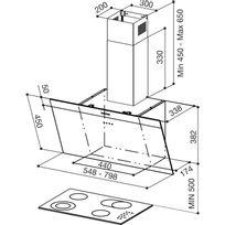 hotte 80 cm catalogue 2019 rueducommerce carrefour. Black Bedroom Furniture Sets. Home Design Ideas