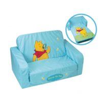 Disney - Canapé convertible en mousse et tissu - Collection Winnie l'ourson