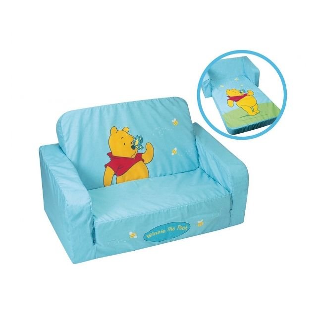 disney canap convertible en mousse et tissu collection winnie lourson - Chambre Winnie Lourson