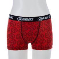 Marvel Comics - Marvel Boxer Garçon Coton Av02C Rouge