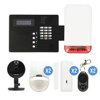 Iprotect - Alarme Gsm et sirène Autonome avec caméra Ip Foscam C1