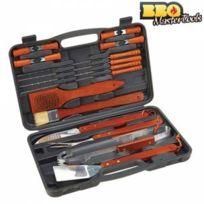 Exclusif Shopping Vip - Mallette Ustensiles Barbecue Bbq Master Tools 18 PiÈCES Poids 1 Kg