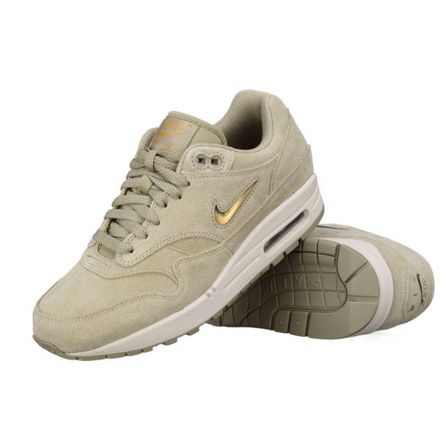 Nike Air Max 1 Premium Sc 918354 201 Olive pas cher