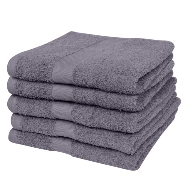 Vidaxl - Serviettes de bain 100% coton 500 gsm 100 x 150 cm ...