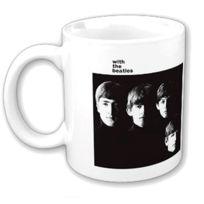 Rock Off - Woodbrass Club Mug Beatles Motif: With The Beatles - 9,7 Cm X 8,2 Cm