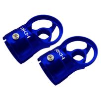 RakonHeli - Support de moteur alu bleu Pod 250 - Rakon Heli