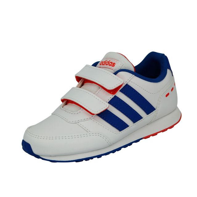 c940f1b66f1 Adidas Neo - Adidas Neo Vs Switch Cmf C Chaussures Mode Sneakers Enfant  Blanc Bleu