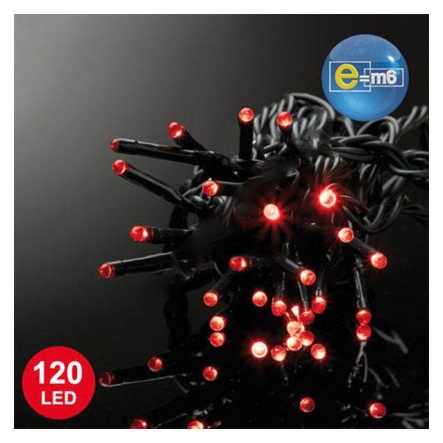 CODICO guirlande électrique animé 120 led 12m rouge - 5eex547ro