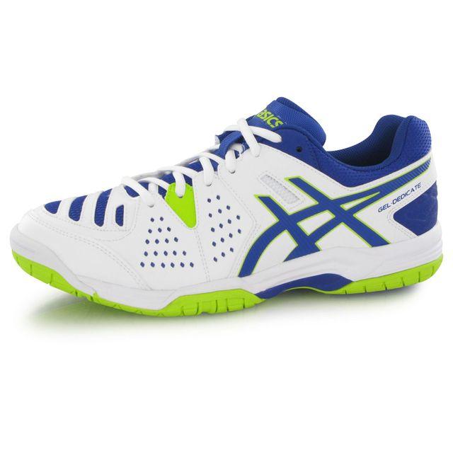 new product fd013 1459b Chaussures Gel Pas De Homme Blanc Tennis Asics 4 Dedicate Cher ZITO7qq