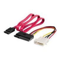 Equip - Sata-kabel - interne Stromversorgung, 4-polig, 7-poliges Sata bis 22-poliges Sata - 50 cm - gepresst