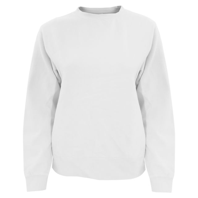 sale retailer on feet images of huge discount Generic - Comfort Colours - Sweat uni - Femme M, Blanc ...