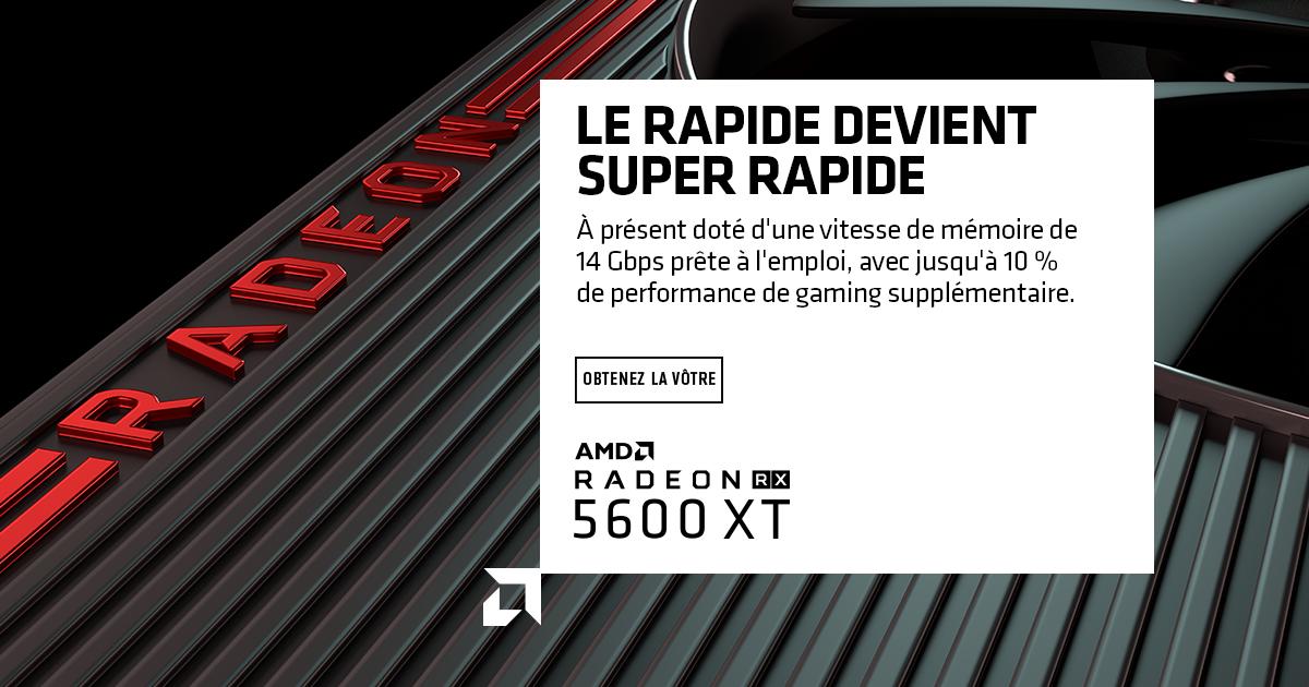 Radeon RX 5600 XT - GAMING X - 6 Go