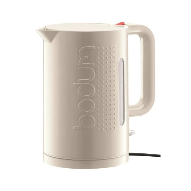 BODUM BISTRO 11138 Bouilloire électrique ? 1.5L - Blanc Creme