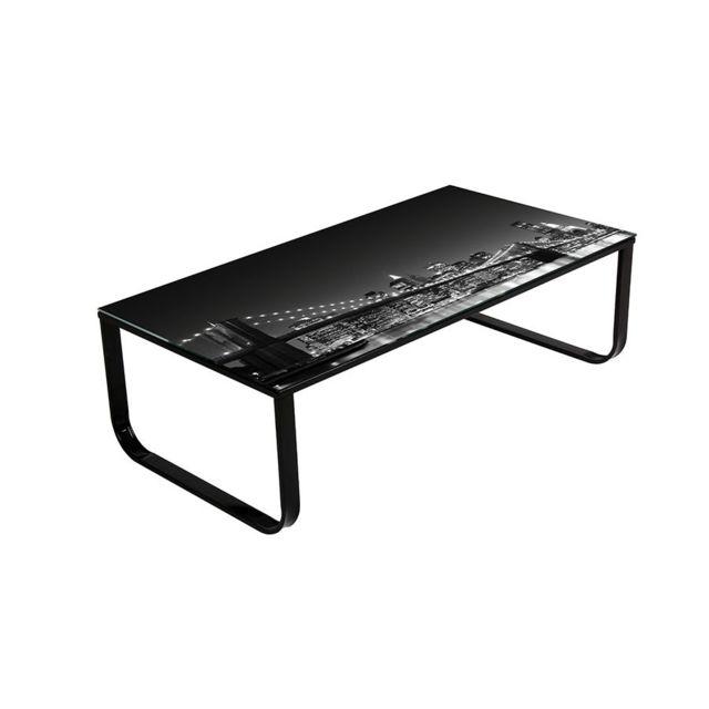 Sofamobili Table basse décor Brooklyn design Night
