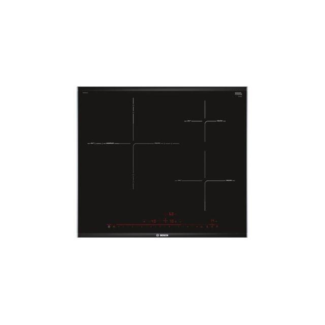Bosch Plaque à Induction PID675DC1E 60 cm Noir 3 zones de cuisson