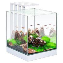 Ciano - Aquarium Nexus Design Équipé de Led + Filtre