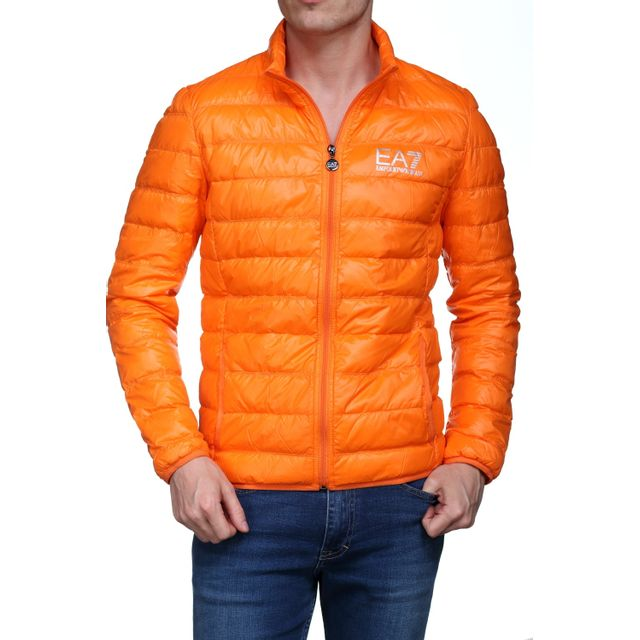 031016f9a481 Armani - Blouson Ea7 Emporio 8npb01 - Pn29z 1681 Orange - pas cher ...