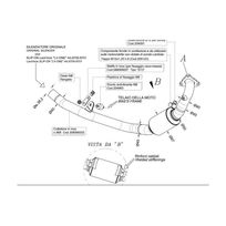 Leovince - Tube No Kat - Collecteur pour supprimer le Catalyseur - Acier Inox - Honda Integra 700 Honda - Nc 700 X I.E. 2012