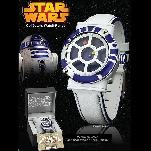 Kas Design Montre Star Wars R2D2 Collector, Montre Geek de Luxe