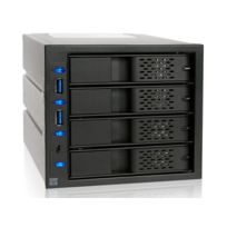 Icy Dock - Backplane 3x5,25'' ICY DOCK FlexCage MB974SP-2B pour 4 disques durs 3,5'' SATA - USB 3.0