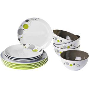 autre pack vaisselle m lamine space 12 pi ces pas cher achat vente service de vaisselle. Black Bedroom Furniture Sets. Home Design Ideas