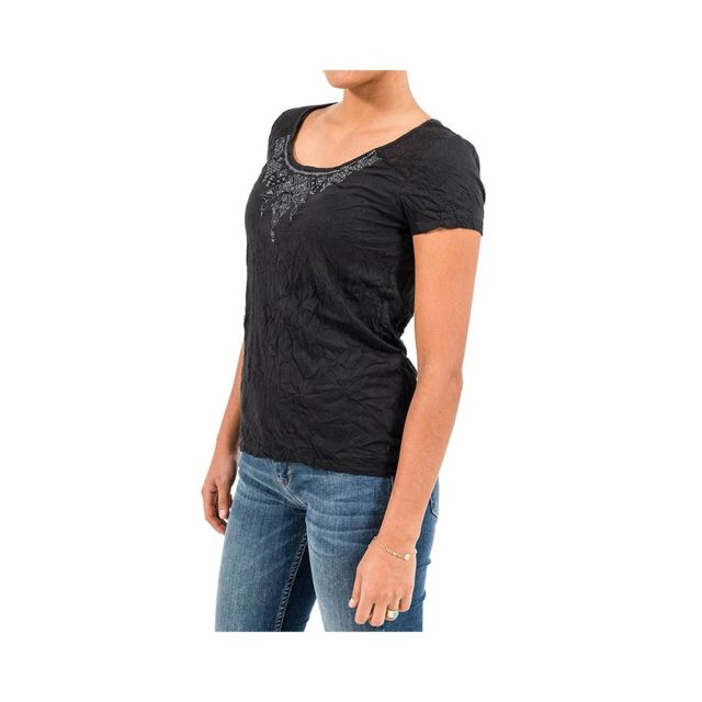 OXBOW Thea Femme Tee-shirt Noir Noir T3