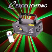 Excelighting - Jeu de lumière laser Rgy200-Dmx