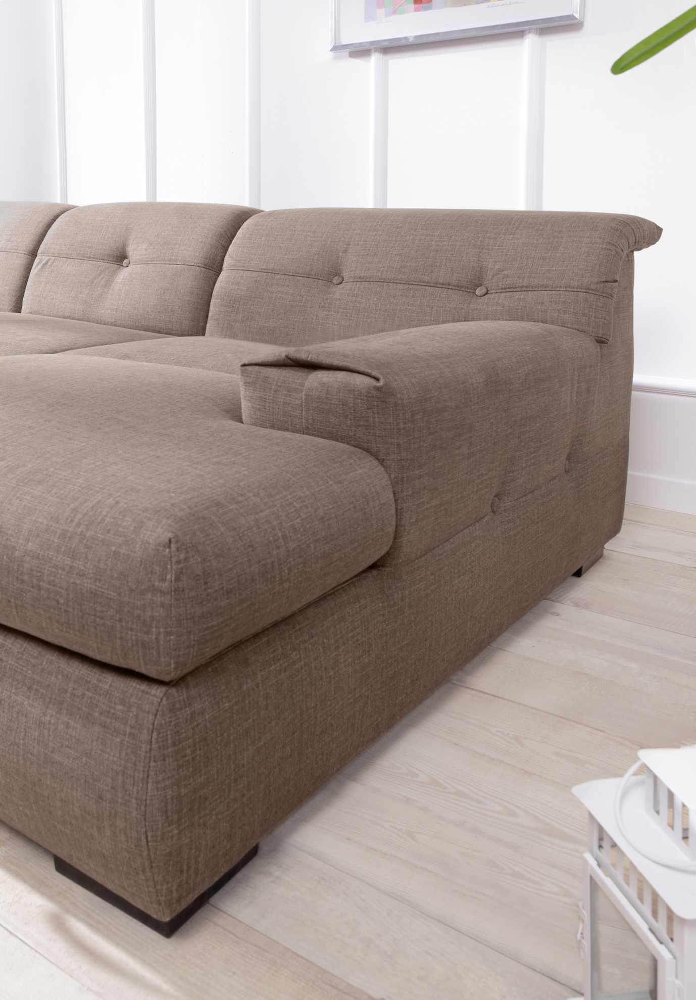 bobochic genova canap convertible angle droit caf latte achat vente canap s pas. Black Bedroom Furniture Sets. Home Design Ideas