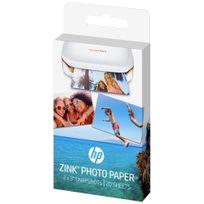 HP - Papier Photo adhésif ZINK - 20 feuilles 5x7.6-cm