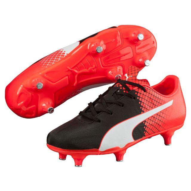 Puma Chaussure De Foot Puma evoSPEED 1 2 K FG Cheap Chaussure De Foot Rouge Blanc