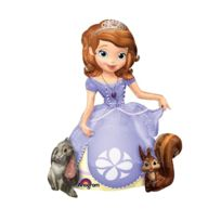 Amscan International - Ballon en forme de princesse sofia