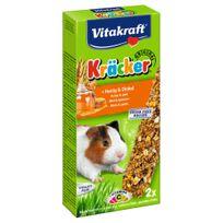 Vitakraft - Friandises Kräcker au Miel et Épautre pour Cochons d'Inde - x2