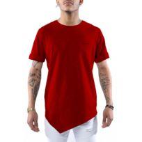 Project X - Tee shirt asymétrique homme Paris 88161116 XL - Rouge