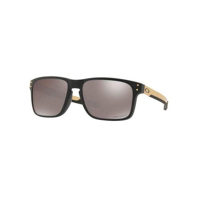 Oakley - Lunettes Oakley Holbrook Mix Matte Black avec verres Prizm Black  Polarized 116a80c5c71a