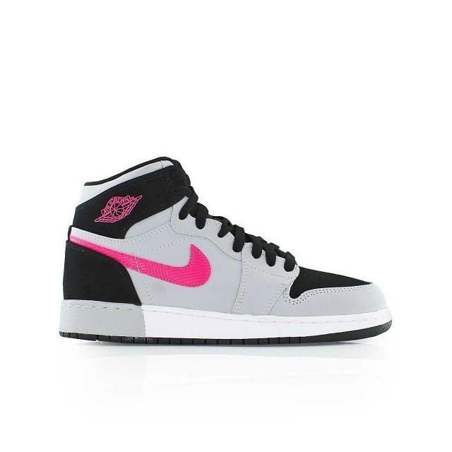 vente chaude en ligne f28a1 97a5d Jordan - Chaussure de Basketball 1 Retro High Gg gris et ...
