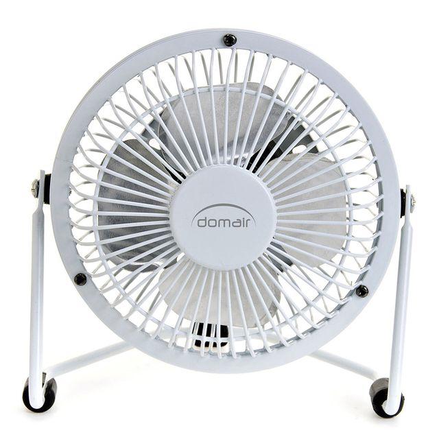domair ventilateur de table minifan blanc pas cher achat vente ventilateur rueducommerce. Black Bedroom Furniture Sets. Home Design Ideas