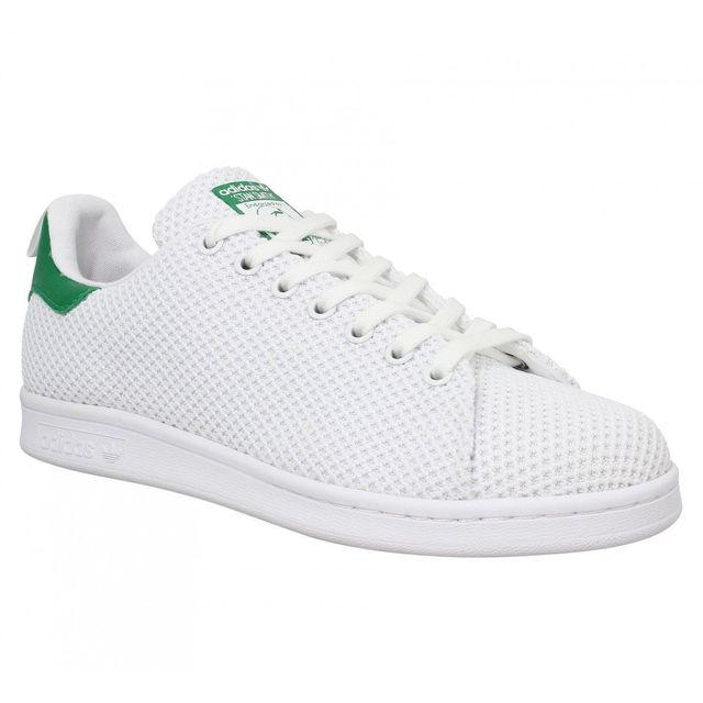 Adidas Stan Smith toile 41 13 Blanc Vert 38 23 pas