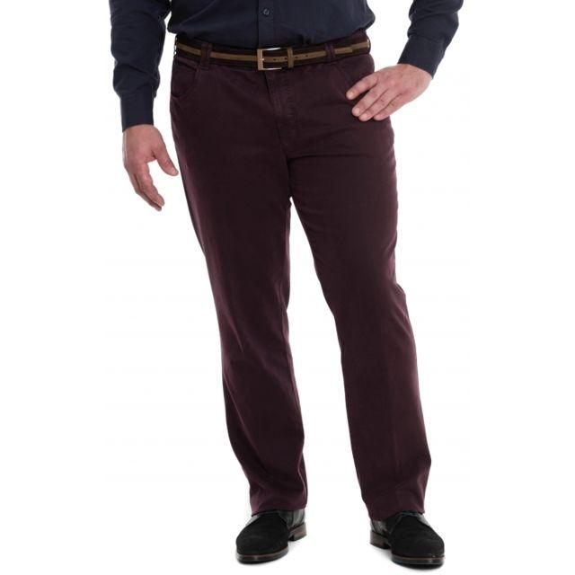 Meyer Pantalon chino dubai prune