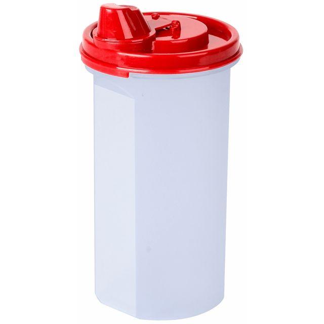Promobo Shaker de Cuisine Mélangeur Sauce et Vinaigrette City Rouge
