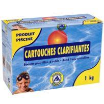 Provence Outillage - Cartouches clarifiantes 1 kg