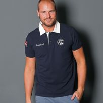 Cobra - Polo Ac Rugby Manches Courtes bleu pour homme taille S