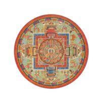 Puzzles Michele Wilson - Puzzle d'art en bois 350 pièces Michèle Wilson - Puzzle rond : Mandala de Sitâtapatrâ