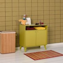 meuble salle bain vert - Achat meuble salle bain vert pas cher - Rue ...