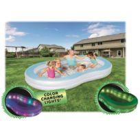 Best Way - Grande Piscine Gonflable Enfant familiale a Led 305 180 cm - Bestway éclairage a Led