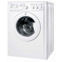 Indesit - Lave linge séchant IWDC7145 Blanc 7kg + 5kg 1400trs/mn départ différé Bab Blanc