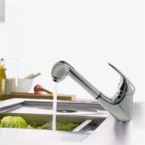 gnrique mitigeur dvier de cuisine en laiton chrom douchette extractible 2 jets robinet