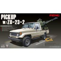 Men model - Maquette Véhicule militaire : Pick-up avec canon Aa Zu 23-2
