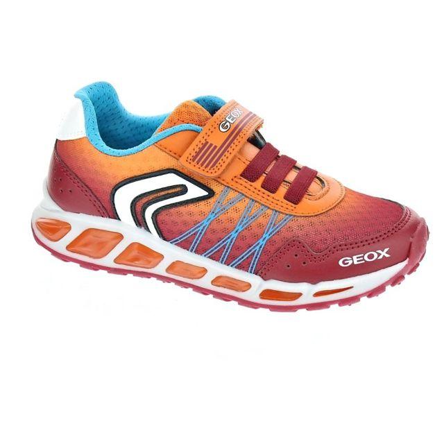 Geox Chaussures Garçon Baskets modele Shuttle 26 pas