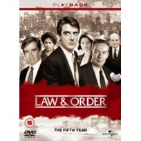 Universal Pictures Uk - Law And Order - Series 5 - Complete IMPORT Coffret De 6 Dvd - Edition simple